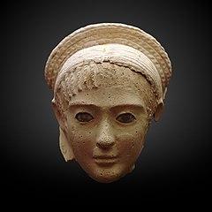 Funerary mask-MAHG 7059