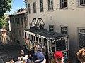 Funicular in Lisbon, Portugal (33463040564).jpg