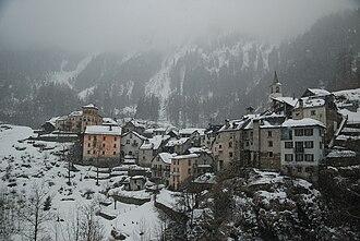 Lavizzara - Fusio village