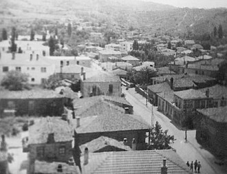 Gökçeada (district) - Image: Gökçeada Town 1967