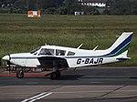 G-BAJR Piper Cherokee 28 (35657923492).jpg