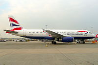 G-GATK - A320 - British Airways