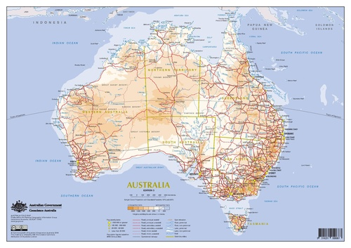 a map of major roads in australia roads are the main method of transport in australia