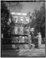 GENERAL VIEW, EAST SIDE (FRONT) - Nathaniel Russell House, 51 Meeting Street, Charleston, Charleston County, SC HABS SC,10-CHAR,2-4.tif