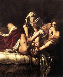 Judith décapitant Holopherne (v.1611-1612)