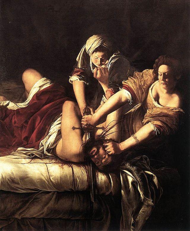 Slikovni rezultat za Judita ubija Holoferna