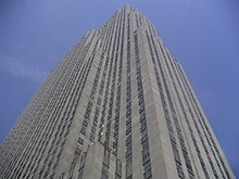 Setbacks on 30 Rockefeller Plaza, as specified by the 1916 Zoning Resolution
