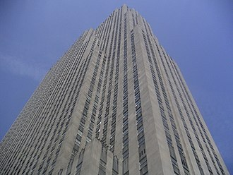 Construction of Rockefeller Center - Setbacks on 30 Rockefeller Plaza, as specified by the 1916 Zoning Resolution