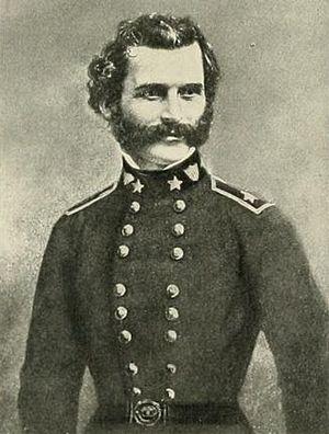 Gabriel J. Rains - Early photo in US Army uniform