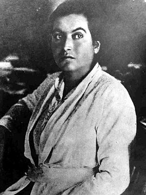 Gabriela Mistral - Gabriela Mistral during her youth