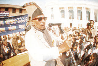 Ganesh Man Singh Nepali politician