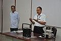 Ganga Sing Rautela Addressing - Operation And Maintenance Training Of Taramandal - NCSM - Kolkata 2011-03-28 2067.JPG