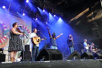 Gangstagrass - Rudolstadt-Festival 2016