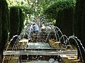 Garden Scene with Fountain - Palma de Mallorca - Mallorca - Spain (14295484337).jpg
