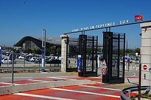 Aix-en-Provence TGV railway station - Aix-en-Provence TGV railway station