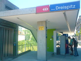 Image illustrative de l'article Gare de Bâle-Dreispitz