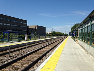 Park Avenue station (Montreal) - Image: Gareparc