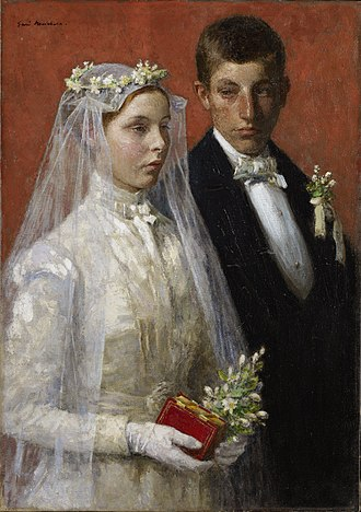 Gari Melchers - Image: Gari Melchers Marriage