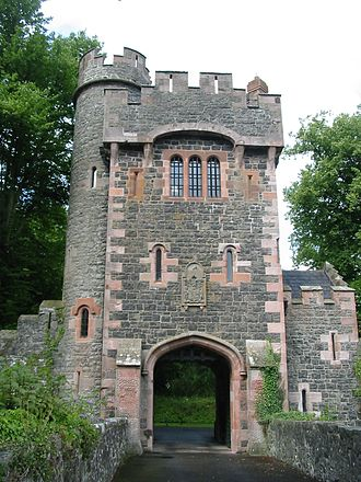 Gatehouse - Barbican gate of Glenarm Castle, Co. Antrim