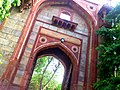 Gateway into Arab Sarai, south to the pathway towards Humayun's tomb,Delhi.JPG