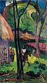 Gauguin Cavalier devant la case.jpg