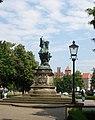 Gdańsk , Poland - The King Jan III Sobieski Monument - panoramio.jpg