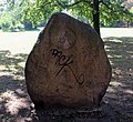Gedenkstein Mendelssohn-Bartholdy-Park (Kreuz) Felix Mendelssohn Bartholdy&Ivo Breuker&1967.jpg