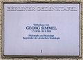 Gedenktafel Nußbaumallee 14 (West) Georg Simmel.jpg