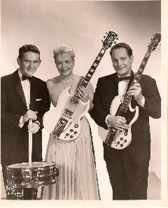 Gene Paul - Image: Gene Paul, Mary Ford & Les Paul in the mid 1960s