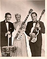 Gene Paul, Mary Ford & Les Paul in the mid-1960s.jpg