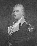 Print of middle aged Samuel Smith in a general's uniform