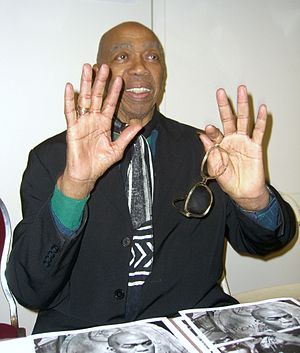Geoffrey Holder - Holder at the Big Apple Con, November 15, 2008.