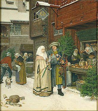 Georg von Rosen - Image: Georg von Rosen Julmarknad