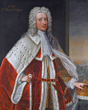 George Brudenell, 3rd Earl of Cardigan - George, 3rd earl of Cardigan (attributed to Enoch Seeman)
