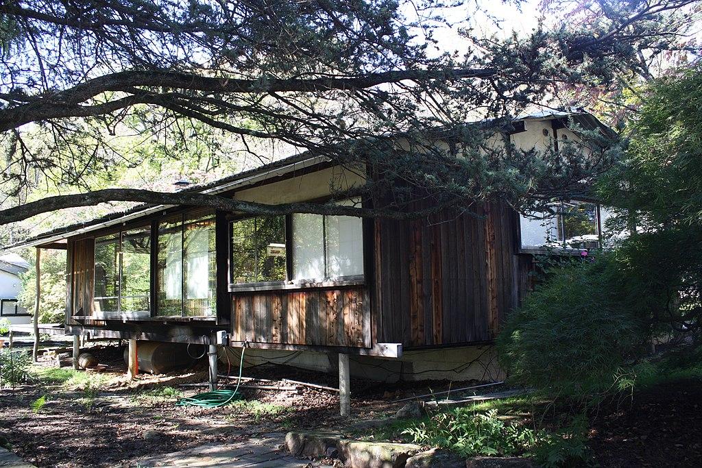 File George Nakashima House Showroom Jpg Wikimedia Commons