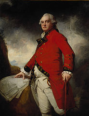 Major-General James Stuart, about 1735 - 1793. Commander-in-Chief in Madras