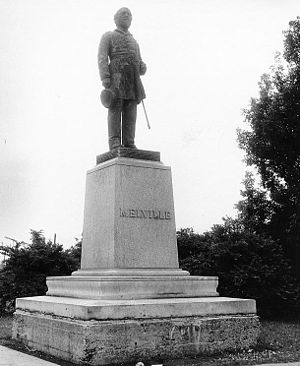 George W. Melville - Image: George Wallace Melville statue