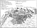 George Wheler 1682 View of Athens.png