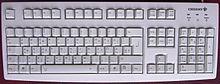 Standard pc tastatur mit deutscher tastenbelegung t2