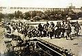 Germans leading Russian prisoners over Vistula River, fortress of Novogeorgievsk, Poland, 1915 (LC-USZ62-42722) (21978728441).jpg