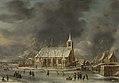 Gezicht op de kerk te Sloten in de winter Rijksmuseum SK-A-4134.jpeg