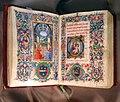 Gherardo e monte di giovanni, libro d'ore, marzo (annunciazione), firenze 1475-1500 ca. 01.JPG