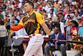 Giancarlo Stanton competes in semis of '16 T-Mobile -HRDerby. (28468363392).jpg