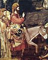 Giotto di Bondone - No. 26 Scenes from the Life of Christ - 10. Entry into Jerusalem (detail) - WGA09207.jpg