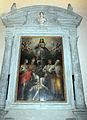 Giovan battista naldini, madonna, santi, adamo ed eva, 1585, 01.JPG
