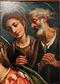 Giovan battista paggi, matrimonio mistico di s. caterina d'alessandria, da seminario vescovile di groseto, 1590 circa 05.JPG