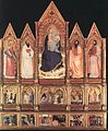 Giovanni Da Milano - Polyptych with Madonna and Saints - WGA09414.jpg