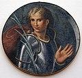 Girolamo da carpi, santo guerriero, forse sebastiano, dal convento di s. giorgio a ferrara.jpg