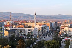 Panorama of Gjilan