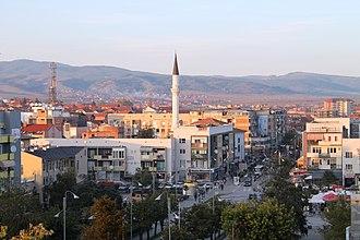 Gjilan - Panorama of Gjilan